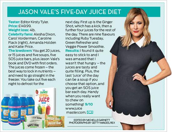 Jason Vale's Five Day Juice Diet